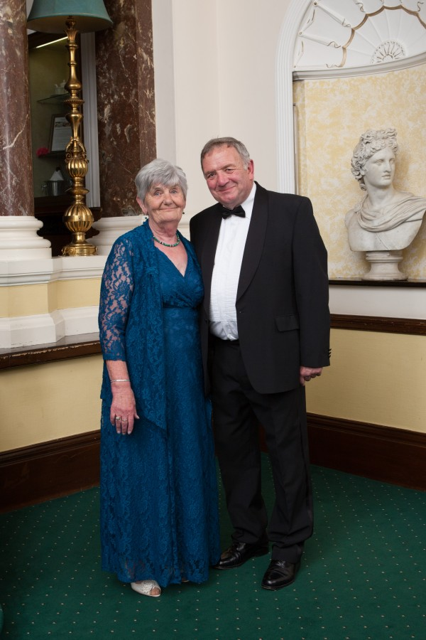 Peter and Madeline  March 12th 2016  Elmley Castle Lodge, Ladies Night, Chateau Impney, Droitwich Spa