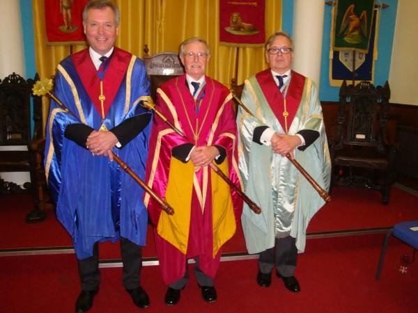 Ex Comp Michael Dykes, Ex Comp Robert Major and Ex Comp Paul Taylor